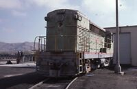 SWPC Railroad Locomotive 409 VICTORVILLE CA Original 1984 Photo Slide