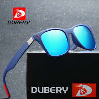 DUBERY Men Polarized Sport Sunglasses Outdoor Driving Fishing Square Glasses Hot