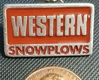 Vintage Western Snowplows Hat Lapel pin