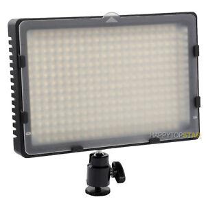 5500K White 18.5 Watt CN-304 LED Camera Video Camcorder DV Lamp Light Panel