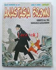 Best Comics n 31 ANASTASIA BROWN Dal Prà Alessandrini