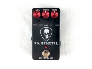Used Amptweaker Tight Metal Distortion Guitar Effects Pedal