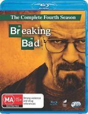 Breaking Bad : Season 4 (Blu-ray, 2012, 3-Disc Set)