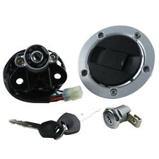 Ignition Switch Lock Fuel Gas Cap Key Set For Suzuki SV1000S 2003-2008 2004 2005