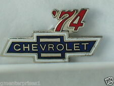 1974 Chevrolet Pin Badge Chevy Auto Pins lapel Hat Tack