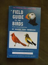 A Field Guide to the Birds Easter Land & Water Birds by Roger Tory Peterson PB