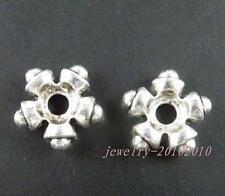 20pcs Tibetan Silver Nice Flower Bead Caps 13.5x4.5mm 9596