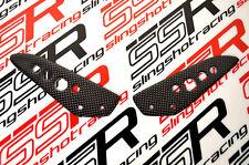 Ducati Multistrada 1000 1000S DS Passenger Pillion Heel Foot Guards Carbon Fiber