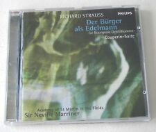 Strauss Le Bourgeois Gentilhomme Couperin Marriner CD