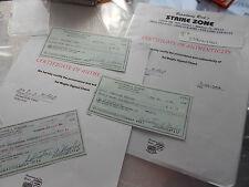 d1992 Sal Maglie 1969 SEATTLE PILOTS coach autograph auto hand signed check