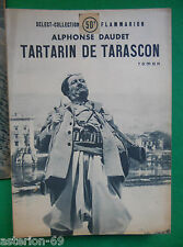 TARTARIN DE TARASCON ALPHONSE DAUDET SELECT COLLECTION N°6 1948
