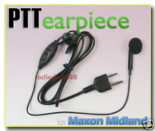 Earpiece Microphone and PTT for Midland radio G226 04S2