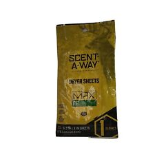 Scent-A-Way Max Fresh Earth Dryer Sheets 07708