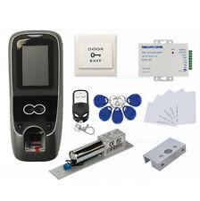 TCP/IP Face & Fingerprint&RFID Card Access Control System Kit+Electric Bolt Lock