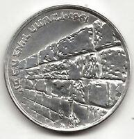 Israel 10 Lirot 1967 plata @ Victoria @ Excelente @