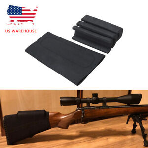 Tourbon Neoprene Buttstock Rifle Holder Cover with 3 Removable Cheek Rest Pad