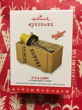 HALLMARK 2016 A CHRISTMAS STORY IT'S A LAMP! LEG LAMP ORNAMENT NEW