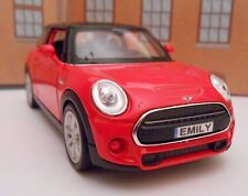 PERSONALISED PLATES MINI HATCH Model Toy Car boy girl dad birthday gift NEW!
