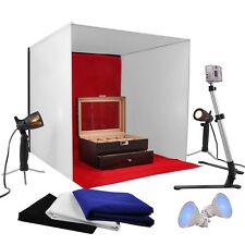 Photo Studio Photography Light Tent Backdrop Kit Cube 60cm Lighting In A Box 24""