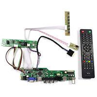 "TV HDMI VGA AV USB LCD Controller Board For 13.3"" 1280x800 LP133WX2 LCD Display"