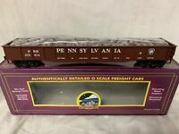 ✅MTH PREMIER PENNSYLVANIA GONDOLA CAR & WHEEL SCRAP LOAD!  PRR