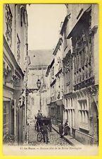 CPA 1900 LE MANS Sarthe MAISON dite de La REINE BÉRENGÈRE Sculptures Animés Vélo