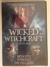 Wicked Witchcraft (DVD, 2013, 3-Disc Set) Three Bewitching Films
