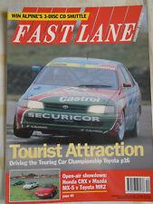 Fast Lane Dec 1993 CRX vs MX5 vs MR2, Trans Am