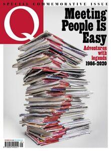 Q MAGAZINE- LAST EVER ISSUE- SPECIAL COMMEMORATIVE ISSUE- SEPTEMBER 2020