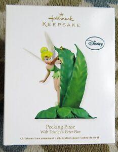 Hallmark Keepsake Ornament - Peeking Pixie Walt Disney's Peter Pan 2012 NIB