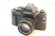 Canon New F-1 film camera w/ AE finder & 50mm F1.4