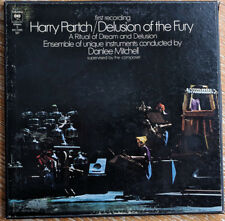 Harry Partch: Delusion...orig 3lp box microtonal avant garde sound sculpture TAS