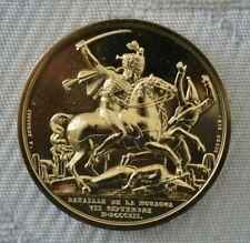Médaille Collection Impériale - Bataille de la Moskowa * Présentoir offert *