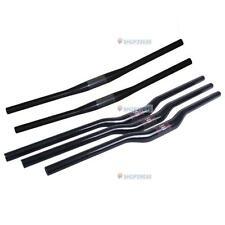 31.8mm 3K fibra di carbonio dritto MANUBRIO MTB BICI BICICLETTA canna piatta