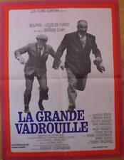LA GRANDE VADROUILLE French moyenne movie poster LOUIS DE FUNES BOURVIL NM