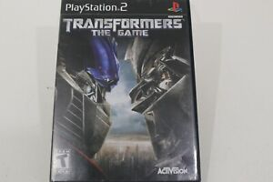 Transformers The Game Playstation 2 PS2 Video Game Complete In Case W/ Manual