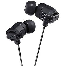 JVC XX Xtreme Bass In-Ear Headphones in Black