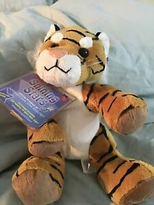 Russ Berrie Shining Stars Tiger Brand New With Sealed Code Tag