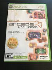 Xbox 360 Arcade Unplugged ( Complete )