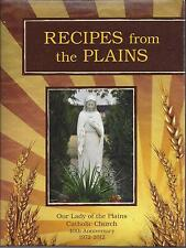 *BYERS CO 2012 CATHOLIC CHURCH COOK BOOK *RECIPES FROM THE PLAINS *COLORADO RARE