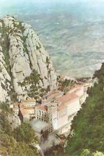 Postcard: Spain - Montserrat. El Monasterio desde San Juan.