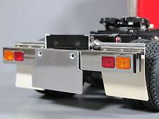 Aluminum License Plate Bracket Mount for Tamiya RC 1/14 Semi King Hauler Truck