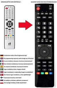 Ersatz Fernbedienung für Receiver INVERTO Volksbox Web Edition IDL6651n
