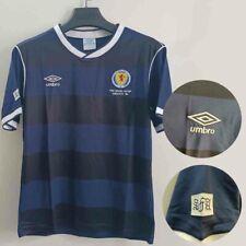 Scotland 1986 World Cup Retro Home and Away  Football Shirt
