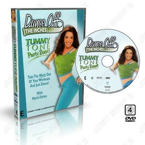 Exercise DVD : Dance Off The Inches Tummy Tone Cardio Workout :  Brand New