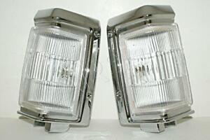 Chrome Corner lights Fits Nissan PATHFINDER Terrano