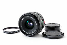 [Almost MINT] Canon New FD NFD 28mm f2.8 MF Wide Angle Lens w/filter from Japan