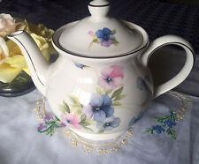 SADLER WINDSOR Bone China Pansy Teapot Made in England est. 1937-1947