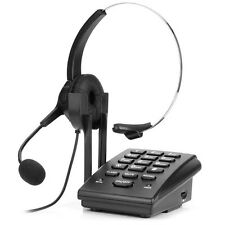 Call Center Dialpad Corded Telephone Desk Phone wMonaural Noise Cancellation