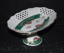 T Limoges Vizavi Porcelain Pedestal Dish